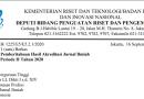 RISTEK-BRIN Umumkan Hasil Akreditasi Jurnal Ilmiah Periode II Tahun 2020