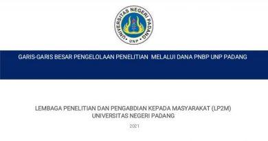 Sosialisasi Panduan Penelitian dan Pengabdian Kepada Masyarakat Pendanaan PNBP tahun 2021